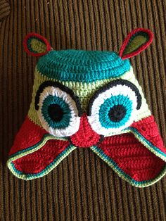 """Free pattern for """"Owl Hat""""!"""