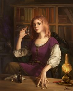 Devi from The Name of the Wind by geying.deviantart.com on @DeviantArt Patrick Rothfuss