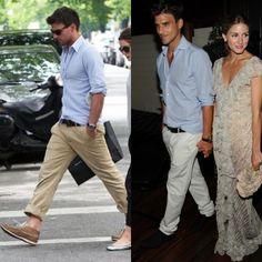 Duas cores e dois jeitos de usar as calças summer way.