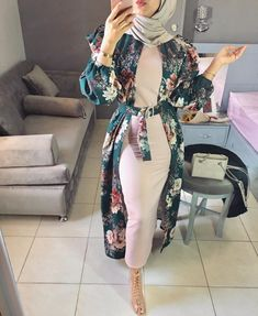 2019 Lovely Hijab Fashion You Have to Rock Hijab Fashion Summer, Modest Fashion Hijab, Modern Hijab Fashion, Modesty Fashion, Hijab Fashion Inspiration, Islamic Fashion, Abaya Fashion, Muslim Fashion, Modest Outfits