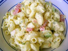 Traditional American Macaroni Salad - makes the perfect summer side dish!