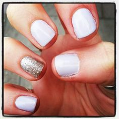 Lilac and Silver Glitter