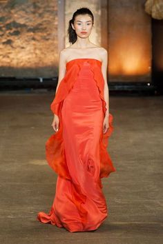 Oranje, Catwalk, Fashion, Van Arendonk, Blog, Christian Siriano