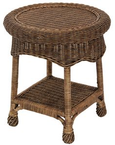 Monte Carlo Cane/Wicker/Rattan Side Table