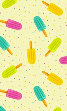 Bunte Stoffe digital gedruckt von Spoonflower Popsicles Pastel - The world's most private search engine Summer Wallpaper, Pretty Wallpapers, Iphone Wallpapers, Brighten Your Day, Popsicles, Custom Fabric, Screen Wallpaper, Fabric Wallpaper, Spoonflower