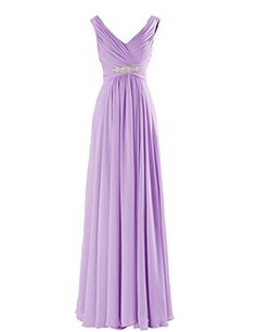 Yougao Women's V Neck A-Line Chiffon Long Floor Length Evening Dress Gown US 2 Lavender Yougao http://www.amazon.com/dp/B00ZU7G3H2/ref=cm_sw_r_pi_dp_Djj6vb0BVVC7D