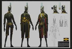 ArtStation - character design, Zhengyi Wang