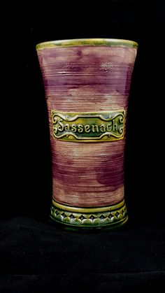 Stoneware Sassenach Cup by Dwarvesong on Etsy