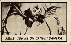 One of a 153 card set of Monster Laffs (AKA: Monster Midgee Cards) Bubble Gum Trading Cards,released in 1963 by Topps