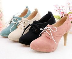 New Fashion Sexy Womens Vogue High Heel Ankle Boots Shoes 4 Colour | eBay