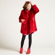Designer clothing at Wild & Gorgeous in sizes From beautiful partywear to coats & shoes, we've got more styles than ever. Take a look now. Kids Branding, Aw17, Head To Toe, Kids Fashion, Fur Coat, Girls Dresses, Model, October, Jackets