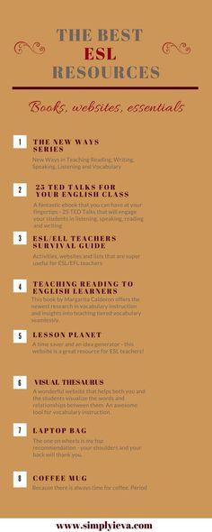 ESL teaching resources; ESL teaching tips and ideas; ESL activities; ESL teaching strategies; ESL essentials