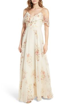 Mila Off the Shoulder Gown