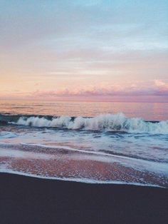 cotton candy sea