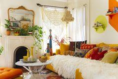 Cheap Bedroom Ideas, Deco Boheme Chic, Boho Chic, Boho Style, Chic Apartment Decor, Tumblr Room Decor, Cute Room Decor, Awesome Bedrooms, Home Decor Styles
