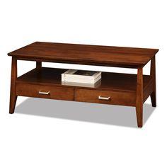 Leick Delton Sienna Rectangular Coffee Table