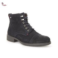 Tommy Hilfiger - J2285EFF 1B Gtx - FM56821887403 - Couleur: Bleu marine - Pointure: 45.0 - Chaussures tommy hilfiger (*Partner-Link)