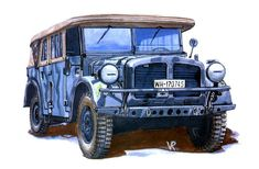 Horch 108 Type 40 Staff Car
