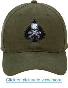 ae18767f90b 9884 Olive Drab Low Profile Death Spade Baseball Cap 야구 모자