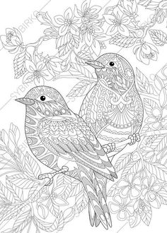 Coloring Sheets Adults Ideas coloring pages for adults love birds spring flowers Coloring Sheets Adults. Here is Coloring Sheets Adults Ideas for you. Coloring Sheets Adults coloring pages for adults love birds spring flowers. Spring Coloring Pages, Printable Adult Coloring Pages, Flower Coloring Pages, Mandala Coloring Pages, Animal Coloring Pages, Coloring Book Pages, Coloring Pages For Kids, Coloring Sheets, Doodle Coloring