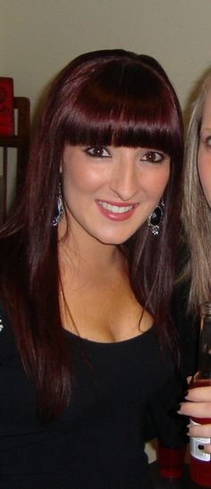 Style, color, thick bangs