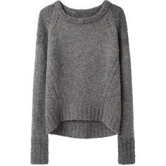 VPL Bi-Knit Sweater ($295) ❤ liked on Polyvore