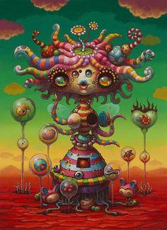 "Yoko d'Holbachie latest solo exhibit :My Strange Goddess"" at AFA Gallery in NYC"