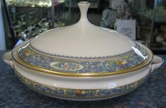 Autumn Round Covered Serving Bowl Lenox