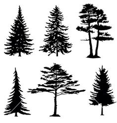 Ideas Tree Silhouette Drawing Backgrounds For 2019 Tree Silhouette Tattoo, Silhouette Art, Pine Tree Silhouette, Wood Burning Patterns, Wood Burning Art, Tree Outline, Silhouettes, Gravure Laser, Mountain Drawing