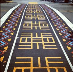 Awesome crosswalk