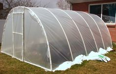 inexpensive green house structure, good site with lots of greenhouse tips
