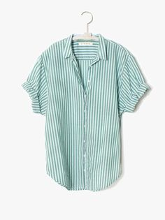 Xirena Clearwater Channing Shirt - Stripes