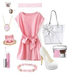 Cotton Candy Pink by ohsosara64 on Polyvore featuring polyvore, fashion, style, Michael Antonio, 1928, Bling Jewelry, Betsey Johnson, Josette, Christian Dior, Clinique and clothing