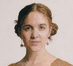 Cayce Zavaglia's Photo Realistic Embroidered Portraits | Yatzer