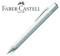 Faber-Castell - ONDORO - biela živica (mechanická ceruzka 0.7mm) Faber Castell, Design, Luxury