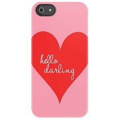 Hello Darling Phone Case--gosh I miss my iphone