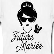 Future Mariée Enterrement Vie evjf Vintage hipsteralso check the Équipe de la Mariée and Futur Marié tee shirts