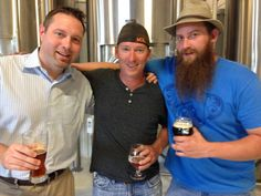 KC Ale Trail -  Also I met with these crazy guys yesterday from Martin City Brewing Company with great stories to tell about their history.