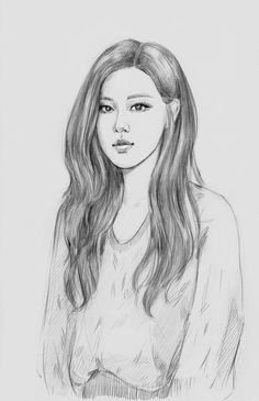 original_title] – Su – Join in the world of pin Girl Drawing Sketches, Cool Art Drawings, Pencil Art Drawings, Rose Sketch, Kpop Drawings, Black Pink Kpop, Wow Art, Blackpink Photos, Pink Art