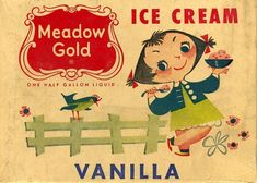 From the mid 50s. I bet the ice cream is still as awesome.