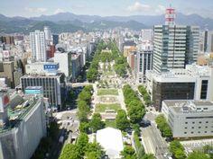 さっぽろテレビ塔 (Sapporo TV Tower)は札幌市、北海道にあります