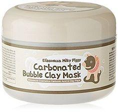 Amazon.com : Elizavecca Milky Piggy Carbonated Bubble Clay Mask : Beauty