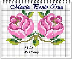 1 million+ Stunning Free Images to Use Anywhere Crochet Bedspread, Tapestry Crochet, Cross Stitch Rose, Cross Stitch Flowers, Bead Crochet Patterns, Beading Patterns, Hardanger Embroidery, Cross Stitch Embroidery, Cross Stitch Designs