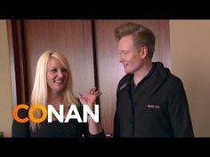 Conan O'Brien Visits The Mary Kay Makeup Company Headquarters - #funny #Conan