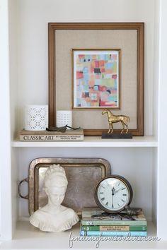 Ten Minute Decorating ideas – Interchangeable Art