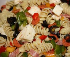 Italian Pasta Salad -- I'm going to make this for our potluck family reunion! It looks great :)