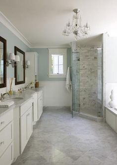 master bath idea -- shower tile