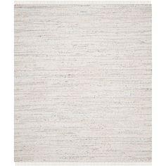 Safavieh Hand-Woven Rag Rug Ivory/ Multi Cotton Rug (10' x 14')