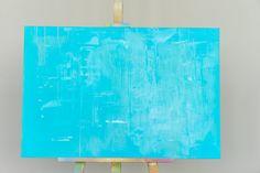 Untitled  BlauHimmel Abstraktes Gemälde auf von HighholderArtwork