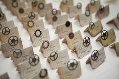 steampunk wedding decor...Florist Wilmington NC | Bloomers Flowers Blog - Wilmington NC | BloomersBlog